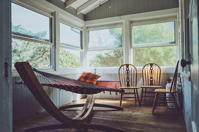 místo k odpočinku v domě