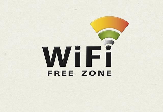 volný Wifi signál