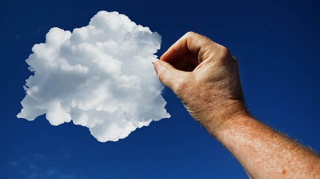 kreslení v oblacích